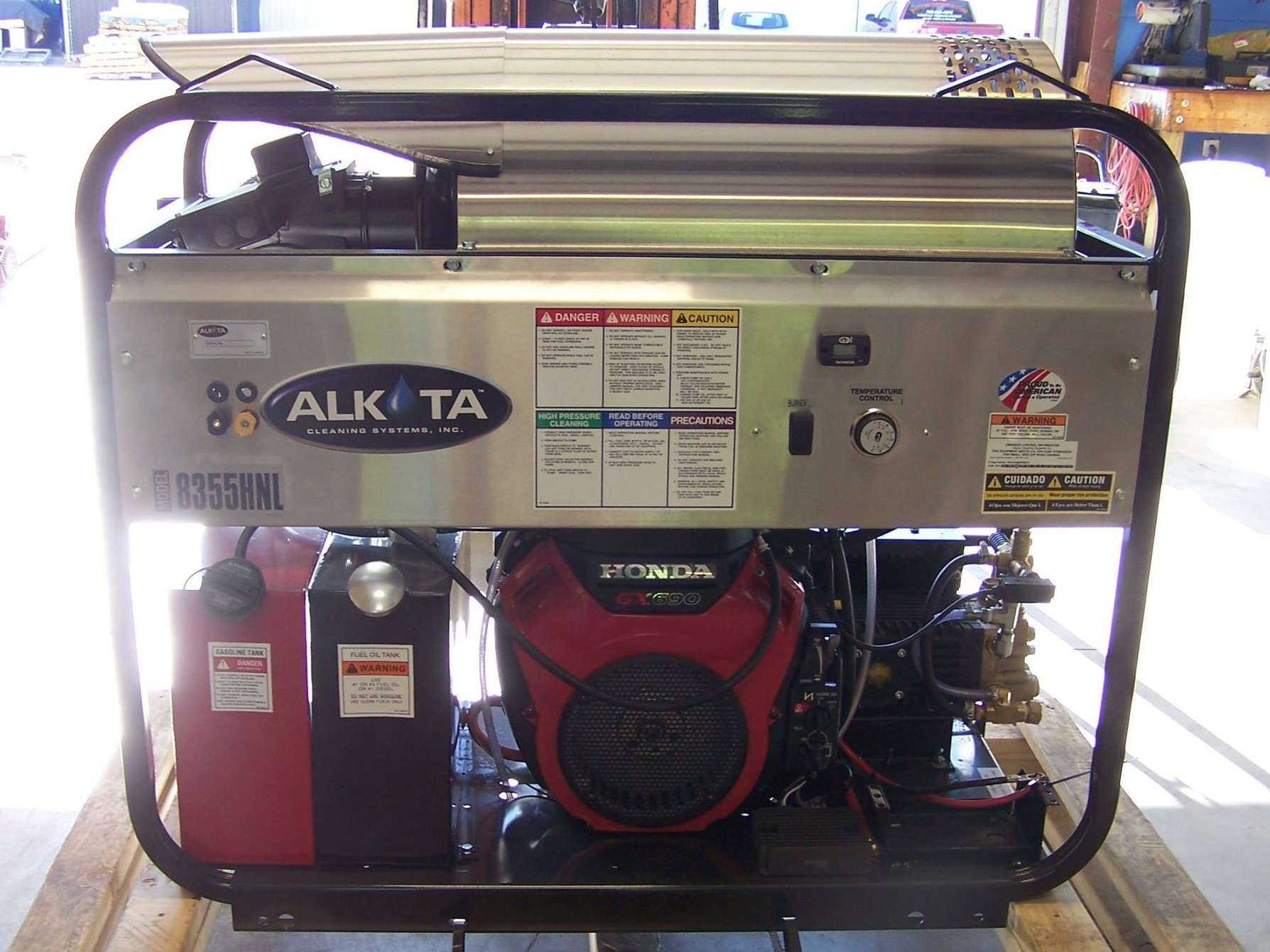 Pressure Washer Equipment & Repair